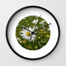 summer meadow XII Wall Clock