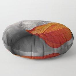 physalis - colorkey Floor Pillow