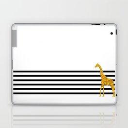 Gold Giraffe Laptop & iPad Skin