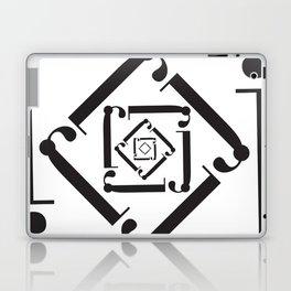 """Dizzy - The Didot """"j"""" Project Laptop & iPad Skin"""