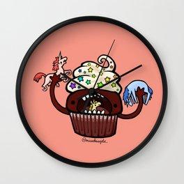 Food Series - Cupcake Wall Clock