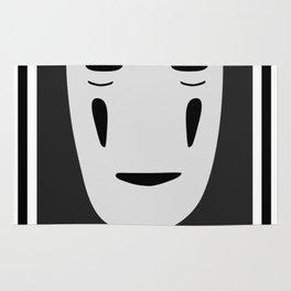 Faceless ghost Kaonashi Rug