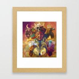 El Samán de Güere Framed Art Print