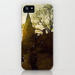 Cobblestone City iPhone Case