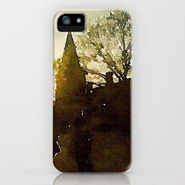 Cobblestone City iPhone Case
