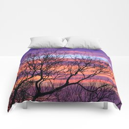 Fifty Shades of Dusk Comforters