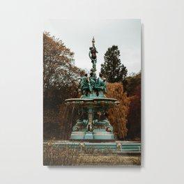 Ross Fountain Edinburgh Metal Print