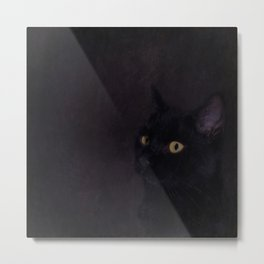 Black Cat - Prince Of Darkness Metal Print