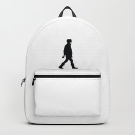 The Winter Man (Black and White) Backpack