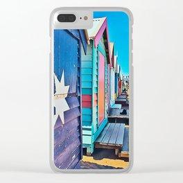 Camie's Beach House Clear iPhone Case