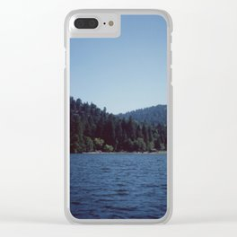 Southern California Lake Day Clear iPhone Case