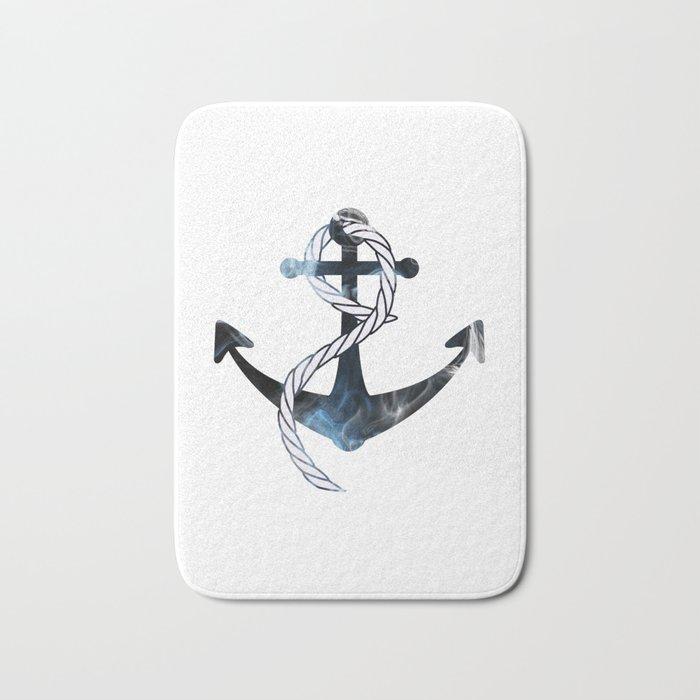 Ships Anchor Bath Mat