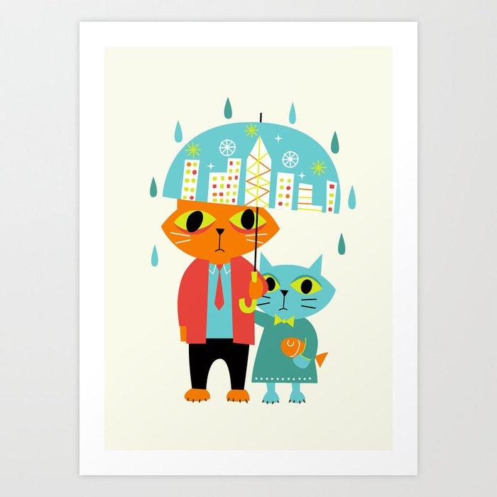 Bad Day Art Print