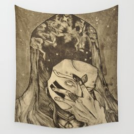 Cosmic Reveal Wall Tapestry