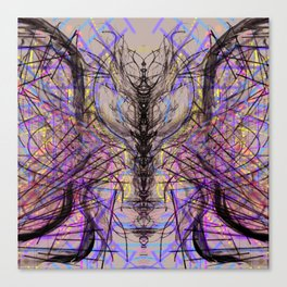 Spinal Fluidity Canvas Print