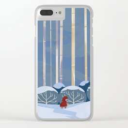 Little Red Clear iPhone Case