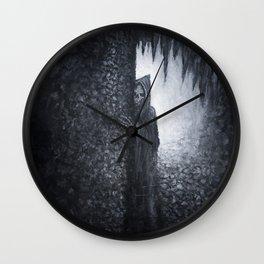 """Lucas Allen Cook """"Dungeon Dweller"""" Wall Clock"""