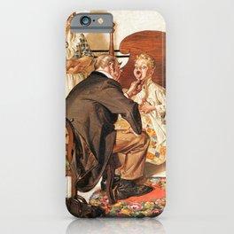 Joseph Christian Leyendecker - Hospital Bed - Digital Remastered Edition iPhone Case