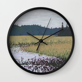 The Grassy Bay, Algonquin Park Wall Clock