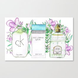 Perfumes Series 3 Canvas Print