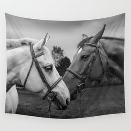 Horses of Instagram II Wall Tapestry