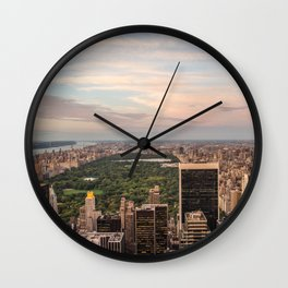 Top of the Rock Wall Clock