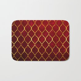 Moroccan Tile islamic pattern #society6 #decor #buyart #artprint Bath Mat