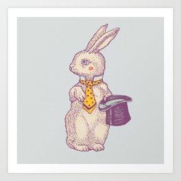 magic Rabbit Art Print