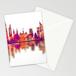 Ho Chi Minh City Vietnam Skyline Stationery Cards