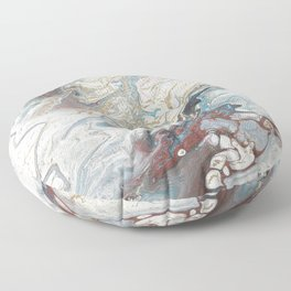 Kintsugi, a reworking of 33 Floor Pillow