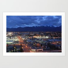 Anchorage Art Print