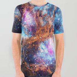 Lobster Nebula All Over Graphic Tee