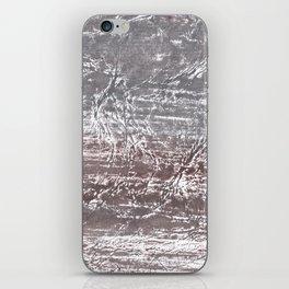 Gray nebulous wash drawing iPhone Skin