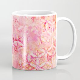 Flower-of-Life Paint Pattern Pink 2 Coffee Mug