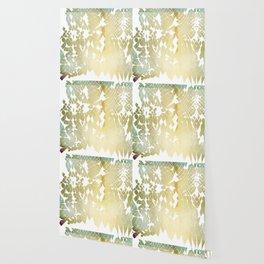 Fractured Gold Wallpaper