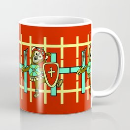 © Litte Monkey wears Full Armor of God Coffee Mug