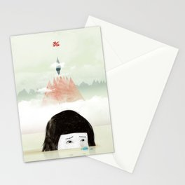 Girl Mountain Stationery Cards