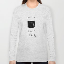 HALF FOOL Long Sleeve T-shirt