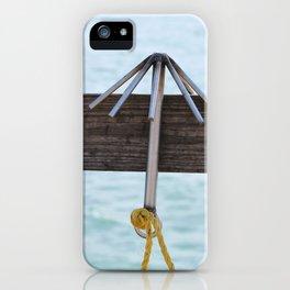 Hook iPhone Case