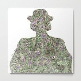 Shadow for Wildflowers Metal Print
