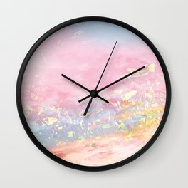 Golden dreams Wall Clock