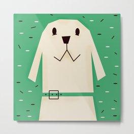 Dog_02_Clara Metal Print