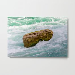 Solid as a rock Metal Print