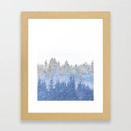 Study in Solitude Framed Art Print