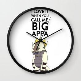 Big Appa Wall Clock