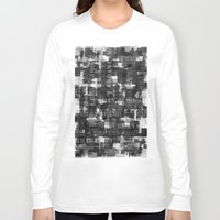 camo Long Sleeve T-shirts featuring Urban Camo by Dood_L