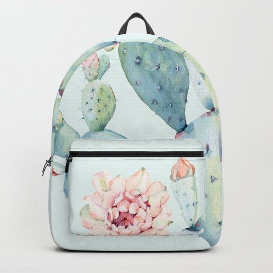 Cactus 2 #society6 #buyart Backpack
