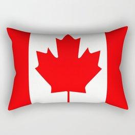 Flag of Canada Rectangular Pillow