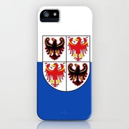 flag of Trentino iPhone Case
