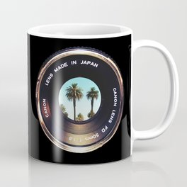 focus on palms Coffee Mug
